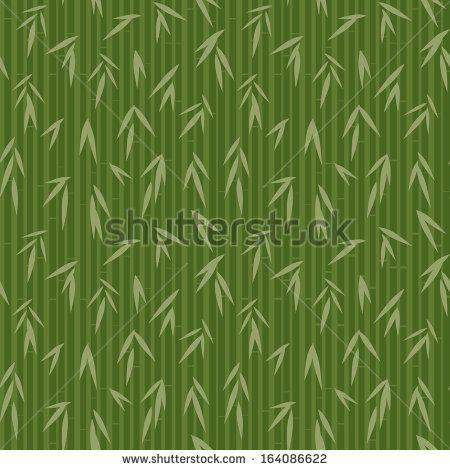 Bamboo Pattern Stock Vector 164086622 : Shutterstock