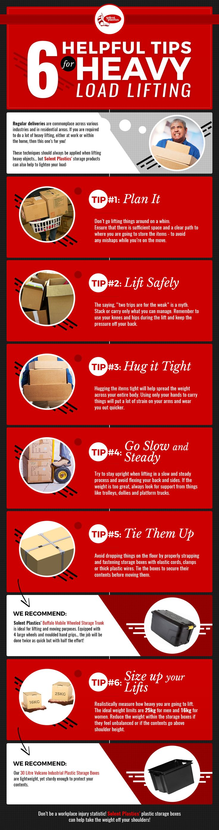 6 Helpful Tips for Heavy Load Lifting...