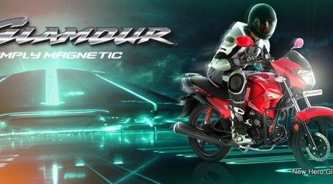 Hero MotoCorp launches new Glamour and Glamour FI | RushLane Indian Cars Bikes News Reviews & Photos