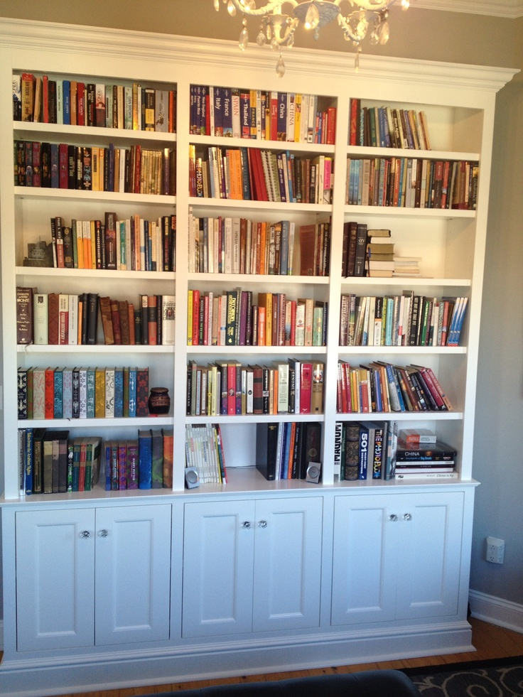 23 Best Built In Bookcase Project Images On Pinterest