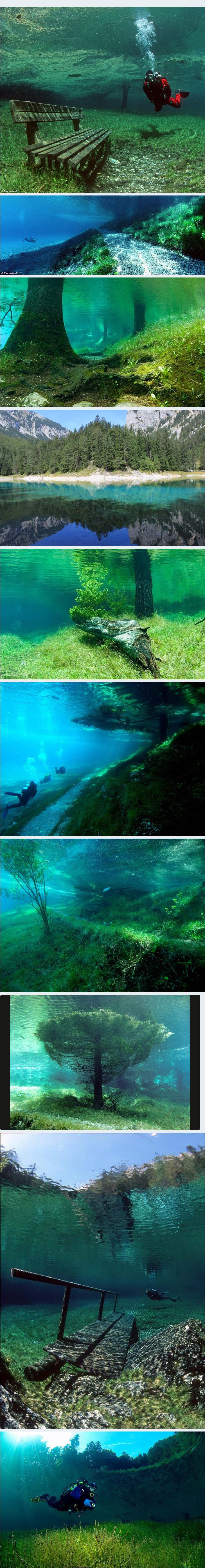 This park in Austria submerges from early spring until about July then drys up rest of the year.