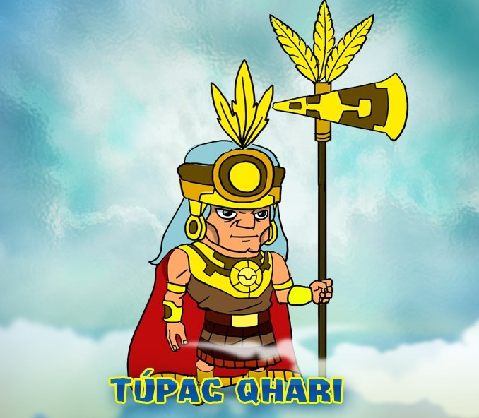 Túpac Qhari, ruler of Incas Empire. Old man, great warrior and wise chief. #games #wp #peru