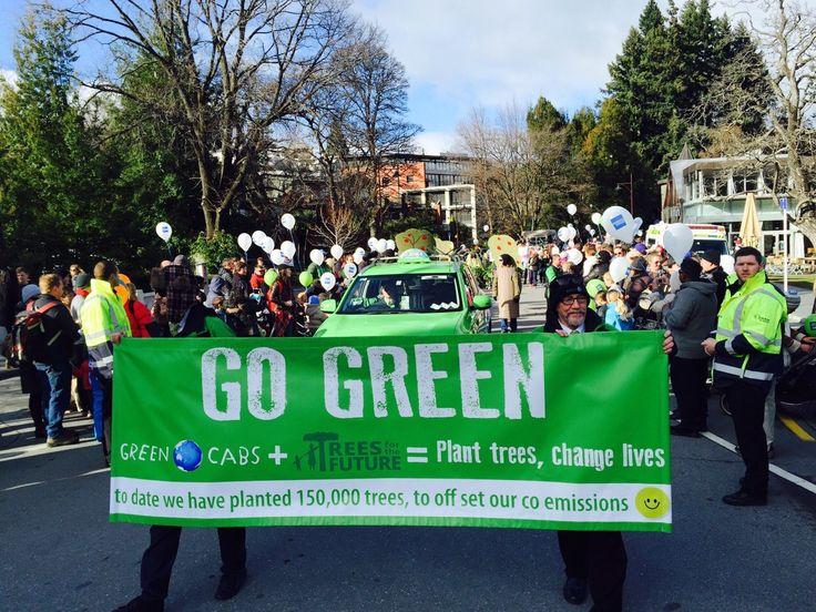 Green Cabs NZ Winterfest Parade Queenstown