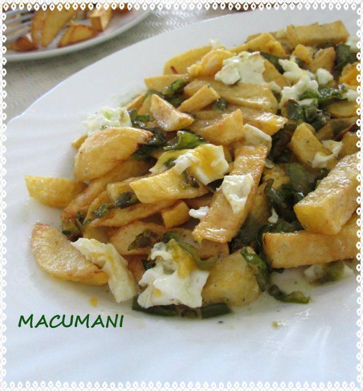 Recetas de macumani patatas estrelladas cocina for Cocinar patatas a lo pobre