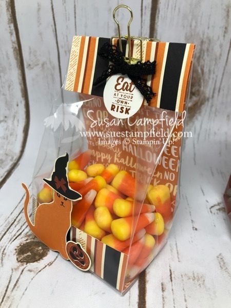 921 best Treat Holders for Holidays images on Pinterest Stamping - halloween treat bag ideas
