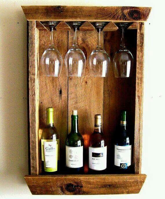 Porta vinos la caribe a vino pinterest estantes de vino botellero y madera - Estantes para vinos ...