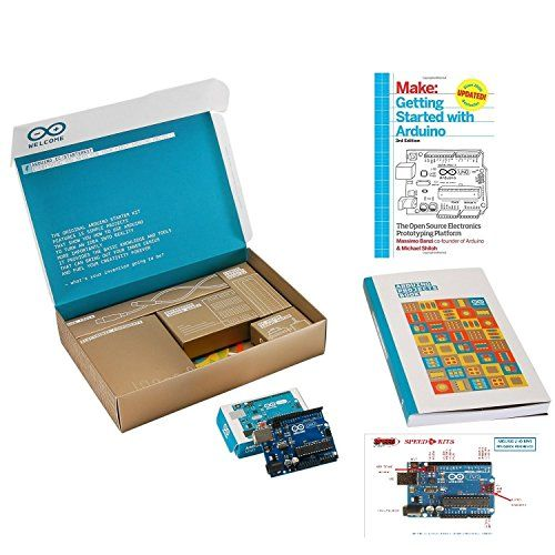 Arduino Starter Kit (to make interactive art) https://www.amazon.com/dp/B00UET6VJ6/ref=cm_sw_r_pi_dp_x_n2BoybGAQYAZD