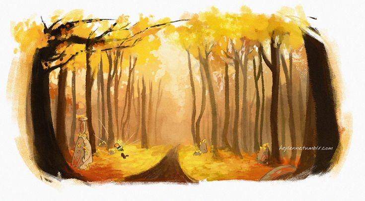 Sleeping Forest by Heylenne.deviantart.com on @DeviantArt