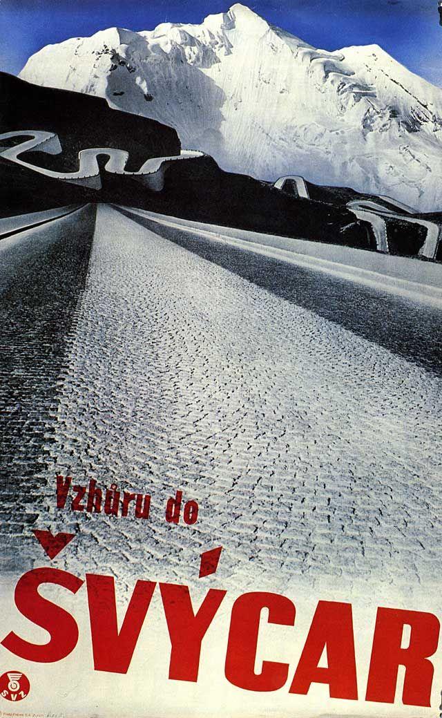 Herbert Matter, Swiss tourism poster, 1934