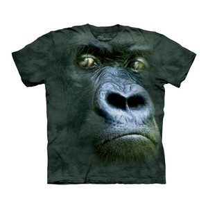 Silverback Portrait Tee Adult now featured on Fab ~ This lifelike gorilla tee has eyes that seem to see through you...