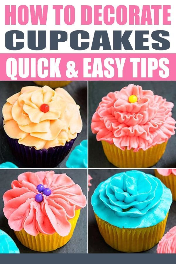 Learn How To Decorate Cupcakes With Frosting For Beginners This