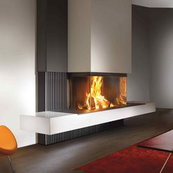 22 best 3 sided fireplace images on Pinterest | Gas fireplaces, 3 ...