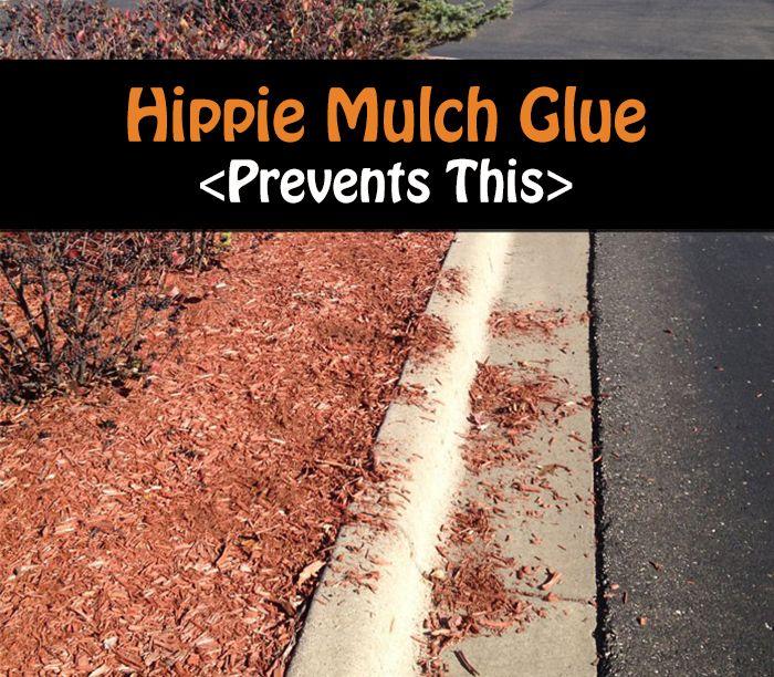 how to make mulch glue