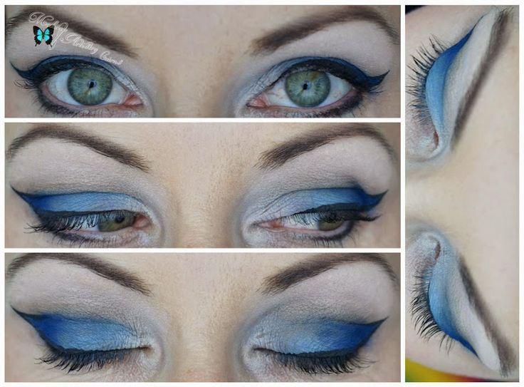 Blue Sculptured Cat Eye created by http://makeupartistrycairns.com.au ❤   #Cairns #Makeup #Inspiration #Beauty #Makeupartistry #makeupartist #makeupart #MUA