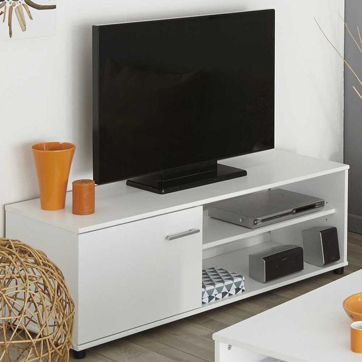 TV Tisch in Weiß günstig kaufen Jetzt bestellen unter: https://moebel.ladendirekt.de/wohnzimmer/tv-hifi-moebel/tv-lowboards/?uid=cfd5437b-c651-5eae-8f12-23b87eb7d220&utm_source=pinterest&utm_medium=pin&utm_campaign=boards #fernsehmöbel #rack #phonoschrank #tvboard #fernsehunterschrank #tische #tvhifimoebel #lowboard #schrank #fernsehtisch #unterschrank #möbel #phonomöbel #bank #fernseher #fer #tvtische #sideboard #tvlowboards #fernsehschrank #wohnzimmer #kommode