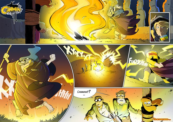 Season2 - Issue20 #canman #webcomic by #DARKDOG