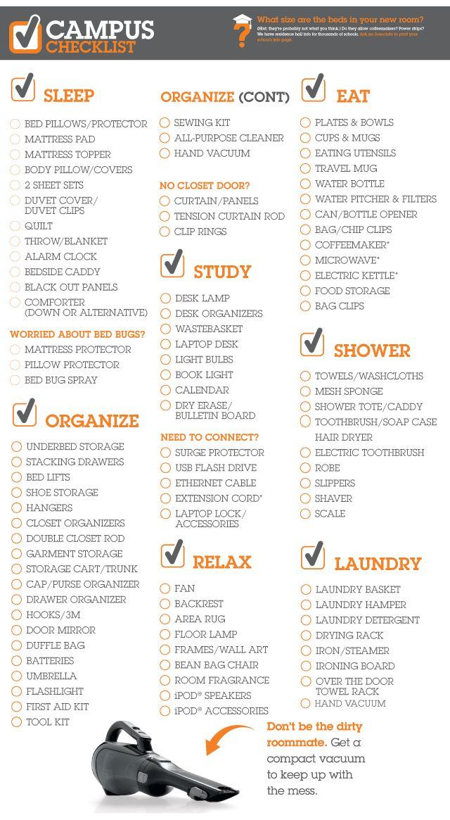 Best  University Checklist Ideas On   University List