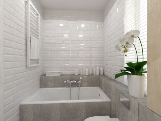 Kolejne pomieszczenie z projektowanego przeze mnie mieszkania. Tym razem…