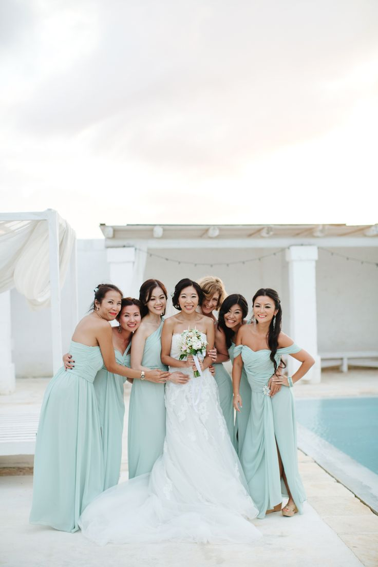 157 best tropical bridesmaids style images on pinterest beach seafoam bridesmaids dresses ombrellifo Image collections
