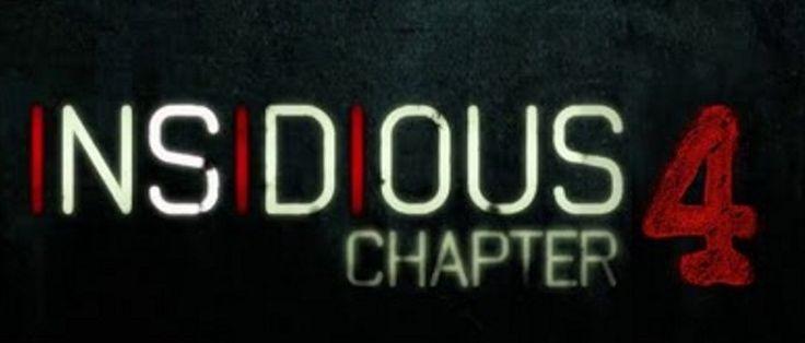 Insidiosa: Capítulo 4 es un próximo 2017 Americana sobrenatural película de terror dirigida por Adam Robitel y escrita por Leigh Whannell. ...