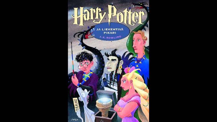 Härry Potter ja liekehtivä pikari luettuna.