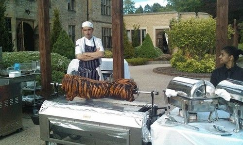 New Trend: Pig Roast Wedding Receptions