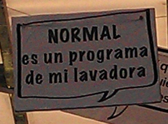 NORMAL es un programa de mi lavadora