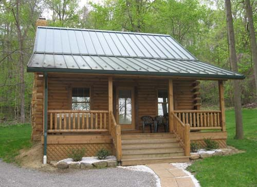 Tulip Poplar Log Cabin Rental | Tranquil Acres Log Cabins