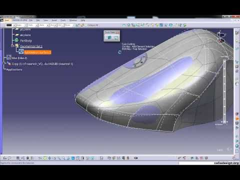 Fuel Tank IMA Design - YouTube