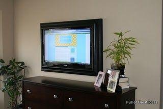 frame for tv