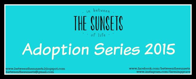 In Between the Sunsets of Life: Adoption Series 2015 - Coming in November