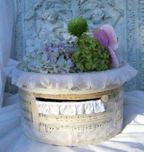 urne de mariage thème la musique