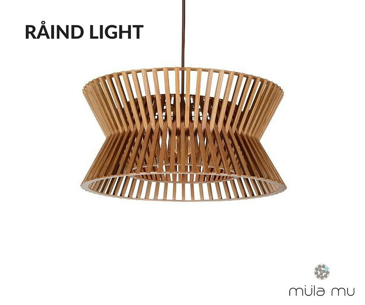 Inspired by swaying palm trees and the whispers of the sea, the RÅIND LIGHT channels a relaxed, cheerful vibe. Turn it on to chase the shadows away. http://www.mulamu.com/product/raind-light/
