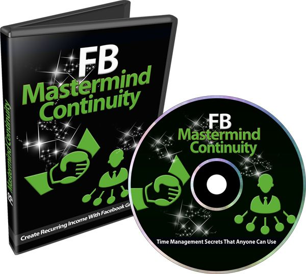 FB Mastermind Continuity #PLRVideos – A Done For You #PLR Video Course with Full Private Label Rights that you can re-brand and resell as your own and keep all the profits!