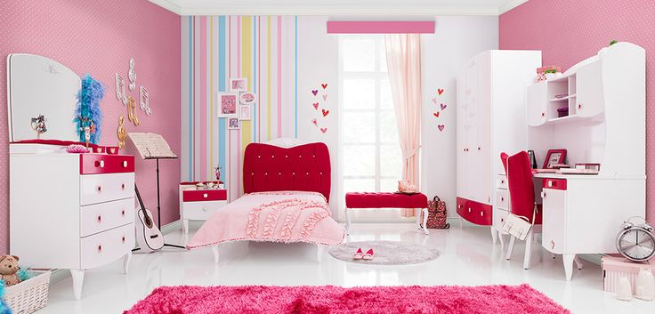 #yakut #çilekodasi #cilekroom #decoration #dekorasyon #genc #oda #pembe #beyaz #pembeoda #beyazoda #klasik #white #pink