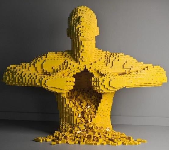 Incredible LEGO Works of Art
