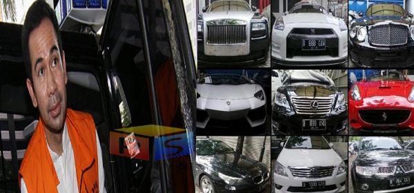 Wow..! Harga Satuan Mobil Wawan Pecahkan Rekor Sitaan KPK