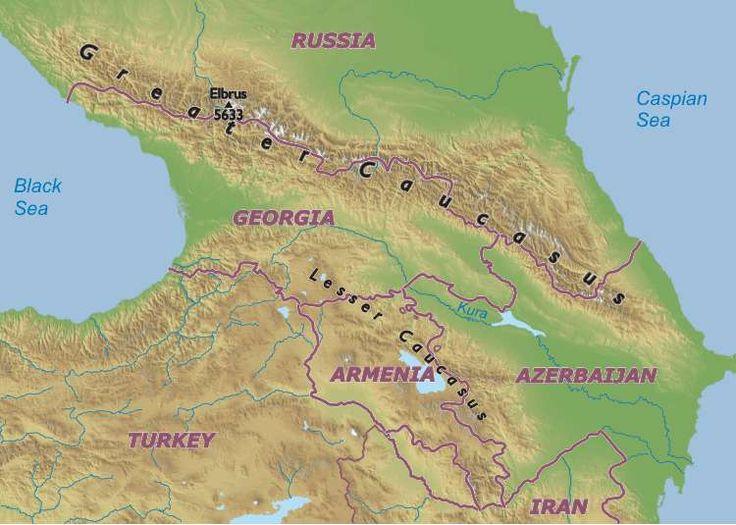Best Genealogy Caucasus West Asia Images On Pinterest - Abkhazia map caucasus mountains