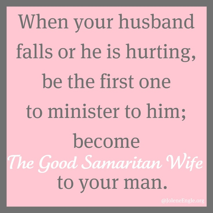 Just Become a Good Samaritan Wife to your man! He Really Needs The Support of His Helpmeet Because She Was Designed and Made For That Purpose. Got Any Questions Read The Word And Talk God About It For A Direct Answer From Above. <3