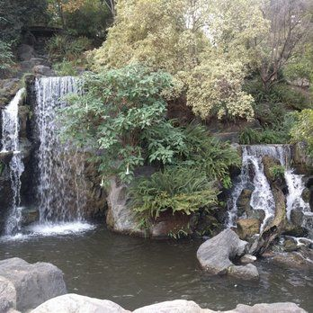 Photo of Los Angeles County Arboretum and Botanic Garden - Arcadia, CA, United States. Waterfall