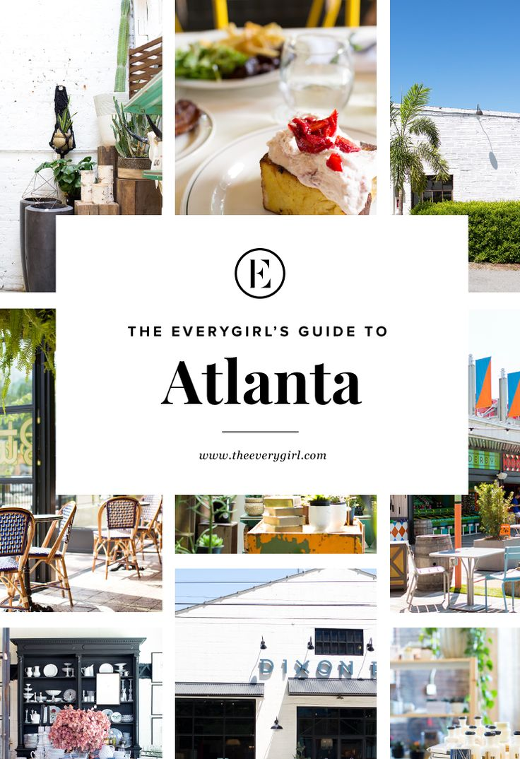 Atlanta. The Jewel of the South. The A. ATL. Hotlanta. This crossroad city is known by many names and is