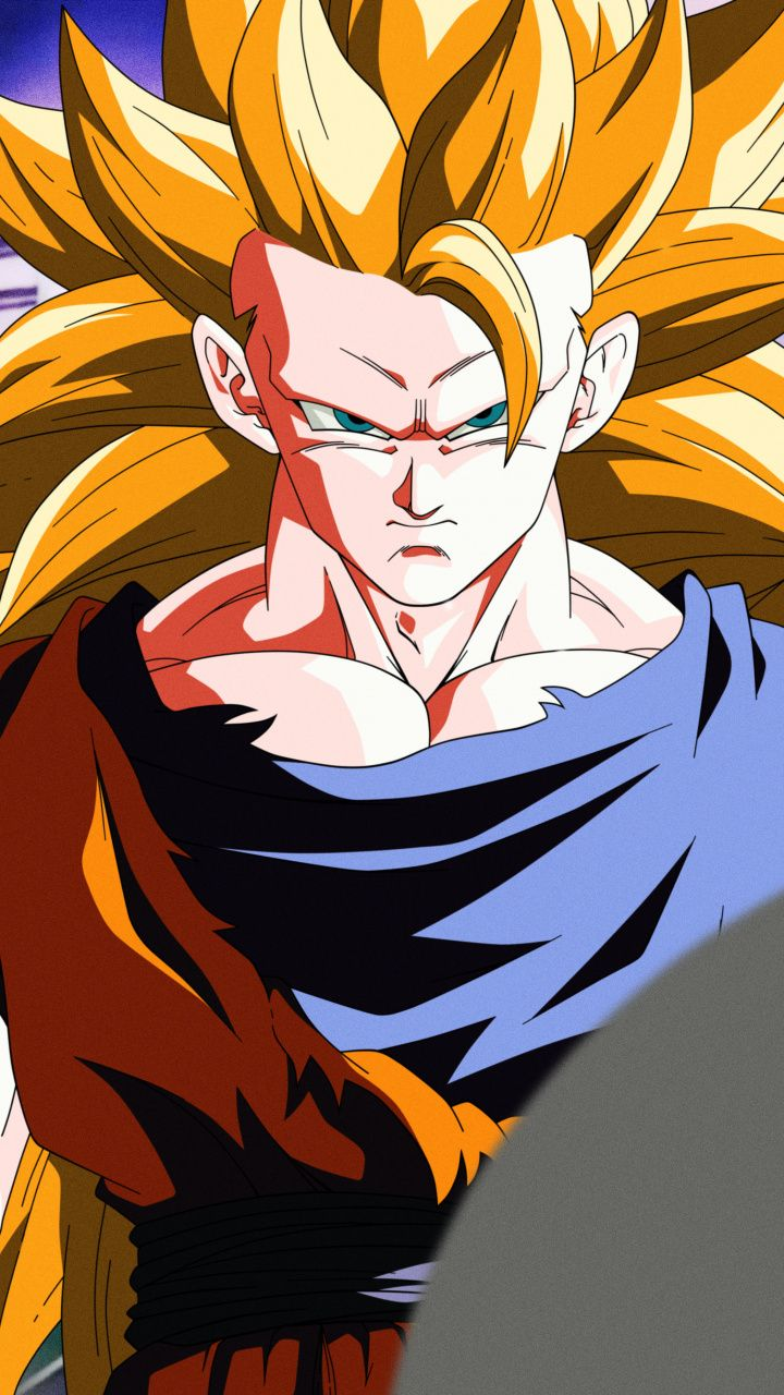 720x1280 Wallpaper Son Goku  Dragon Ball Super  Blonde  Artwork