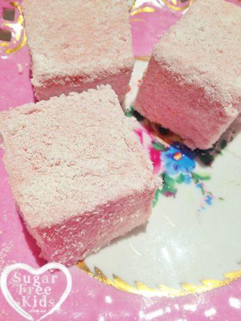 All natural Sugar Free Marshmallow recipe