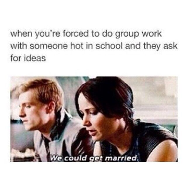 THIS MADE ME LAUGH SO HARD! It's so blunt. I love it #catchingfire #funny