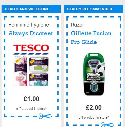 VOUCHER CODE Multiple Voucher Codes – £2 Off Gillette Fusion Razor, £1 Off Fairy Platinum + Lots More - Gratisfaction UK Freebies #freebies #freestuff #vouchers