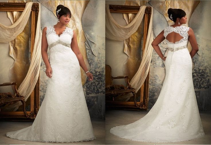 Plus Size Wedding Gowns With Sleeves: NOT YOUR FRUMPY BRIDE: PLUS SIZE EDITION
