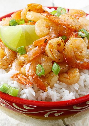 Honey Lime Shrimp. I used the marinade for fish and it was amazing!