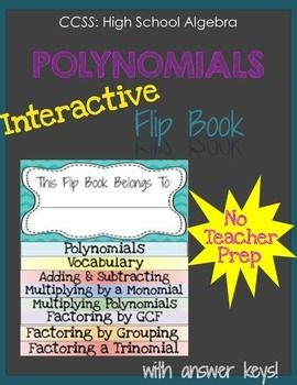 Classifying adding and subtracting polynomials worksheet answers