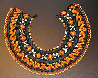 Beautiful Unique Handmade Colombian necklace