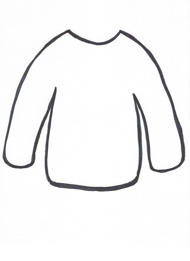 Sweater-template.png 628×865 pixels